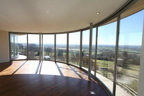 стоимость панорамного окна
